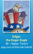 Edgar, the Eager Eagle